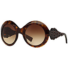 Buy Dolce & Gabbana DG4265 Sunglasses, Tortoise Online at johnlewis.com