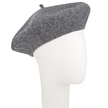 Buy John Lewis Plain Wool Beret Online at johnlewis.com