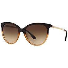 Buy Bvlgari BV8161B Diva Panthos Framed Sunglasses, Tortoise Online at johnlewis.com