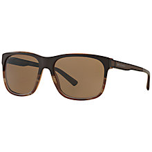 Buy Bvlgari BV7024 Diagono Sunglasses, Brown Online at johnlewis.com