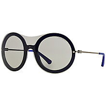 Buy Emporio Armani EA4055 Round Framed Sunglasses Online at johnlewis.com