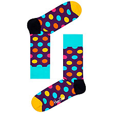 Buy Happy Socks Big Dot Socks, One Size Online at johnlewis.com