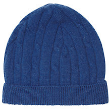 Buy John Lewis Cashmere Knitted Beanie, One Size Online at johnlewis.com