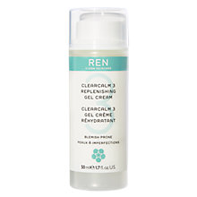 Buy REN Replenishing Gel Cream Facial Moisturiser, 50ml Online at johnlewis.com