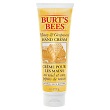 Buy Burts Bees Honey and Grapeseed Oil Hand Cream, 73.7g Online at johnlewis.com