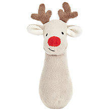 Buy John Lewis Christmas Reindeer Squeaker Toy Online at johnlewis.com