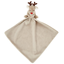 Buy John Lewis Baby's Reindeer Christmas Comforter Soft Toy Online at johnlewis.com