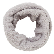 Buy John Lewis Fleece Snood, Grey Online at johnlewis.com