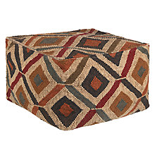 Buy John Lewis Kelim Diamonds Pouffe Online at johnlewis.com
