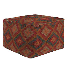 Buy John Lewis Kelim Jewels Pouffe Online at johnlewis.com