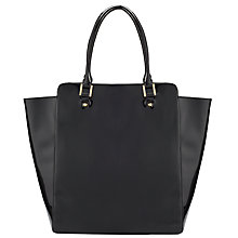 Buy John Lewis North South Tote, Black Online at johnlewis.com