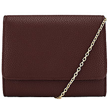 Buy John Lewis Babs Pebble Clutch Bag, Wine Online at johnlewis.com