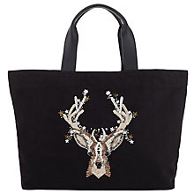 Buy Collection WEEKEND by John Lewis Doe Tote, Black Online at johnlewis.com
