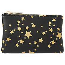Buy Collection WEEKEND by John Lewis Star Coin Purse, Black Online at johnlewis.com