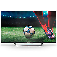 "Buy Sony Bravia KD43X8307CBU LED 4K Ultra-HD Android TV, 43"" with Freeview HD and Built-In Wi-Fi, Silver +  HT-XT3 Soundbase Online at johnlewis.com"
