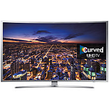 "Buy Samsung UE40S9 Curved 4K Ultra HD Smart TV, 40"" with Freeview HD, Built-In Wi-Fi & Intelligent Navigation Online at johnlewis.com"