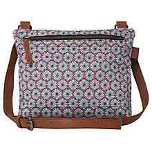 Buy White Stuff Candy Canvas Bag, Dark Pacific Online at johnlewis.com