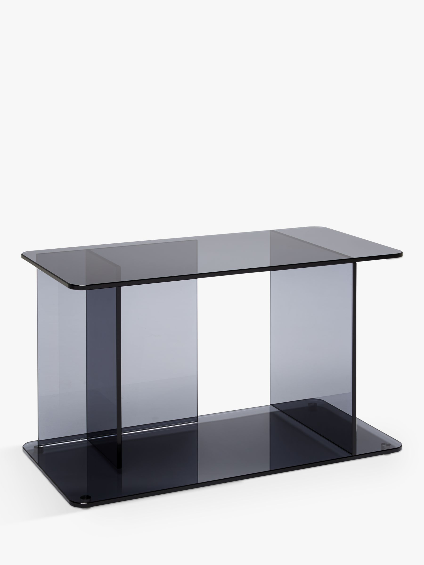 Case Matthew Hilton for Case Lucent Large Side Table, Smoke