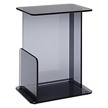 Buy Matthew Hilton for Case Lucent Small Side Table, Smoke Online at johnlewis.com