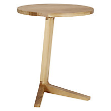 Buy Matthew Hilton for Case Cross Side Table, Oak Online at johnlewis.com