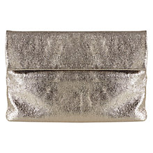 Buy Coast Tilly Metallic Leather Clutch, Bronze Online at johnlewis.com