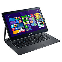 "Buy Acer Aspire R7-371T Convertibe Laptop, Intel Core i5, 8GB RAM, 256GB SSD, 13.3"" Touch Screen, Grey Online at johnlewis.com"