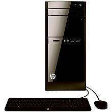 Buy HP 110-530 Desktop PC, Intel Core i3, 8GB RAM, 1TB, Black Online at johnlewis.com