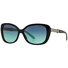 Buy Tiffany & Co TF4106B Somerset Oval Sunglasses Online at johnlewis.com