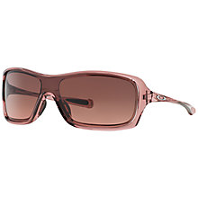 Buy Oakley OO9202 Break Up Sunglasses, Pink/Black Online at johnlewis.com
