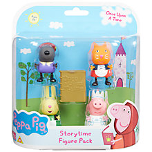 Buy Peppa Pig Once Upon A Time Storytime Figure Pack Online at johnlewis.com