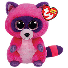 Buy Ty Beanie Boo Roxie Soft Toy, 16cm Online at johnlewis.com
