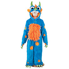 Buy Travis Designs Blue Monster Dressing-Up Costume, 2-3 Years Online at johnlewis.com