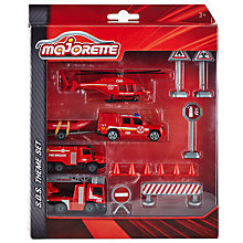 Buy Majorette SOS Firefighter Vehicle Set Online at johnlewis.com