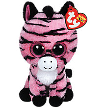 Buy Ty Beanie Boo Zoey Soft Toy, 16cm Online at johnlewis.com