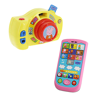 Peppa Pig Peppa's First Camera & Smartphone at John Lewis Department Store