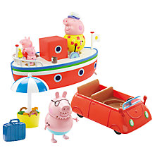 Buy Peppa Pig Holiday Play Set Online at johnlewis.com