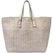 Buy Gerard Darel Bleecker Bag, White Online at johnlewis.com
