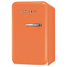 Buy Smeg FAB5LO Mini Fridge, 50cm Wide, Light Orange Online at johnlewis.com
