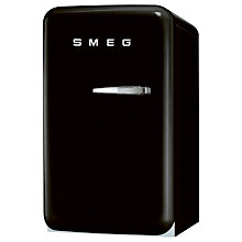 Buy Smeg FAB5LNE Mini Fridge, 50cm Wide, Black Online at johnlewis.com