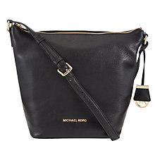 Buy MICHAEL Michael Kors Bedford Large Leather Shoulder Bag Online at johnlewis.com