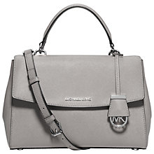Buy MICHAEL Michael Kors Ava Medium Leather Satchel Online at johnlewis.com