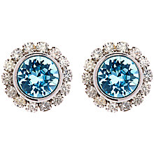 Buy Ted Baker Sully Crystal Chain Aqua Earrings Online at johnlewis.com