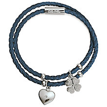 Buy Folli Follie Heart4Heart Charm Bracelet Online at johnlewis.com