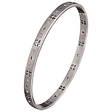 Buy Folli Follie Love & Fortune Bangle, Silver Online at johnlewis.com