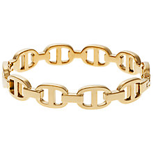 Buy Michael Kors Rose Gold Toned Maritime Hinge Bracelet, Rose Gold Online at johnlewis.com