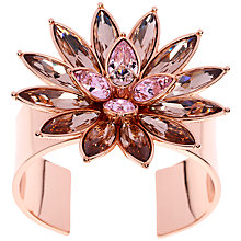 Buy Ted Baker Fonta Flower Bloom Cuff, Pink Online at johnlewis.com