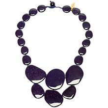 Buy Lola Rose Leoniee Sandstone Necklace, Blue Online at johnlewis.com