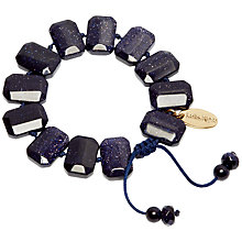 Buy Lola Rose Evelyne Bracelet, Blue Sandstone Online at johnlewis.com