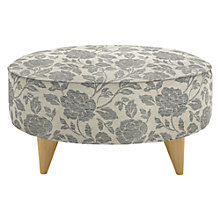 Buy John Lewis Warwick Footstool with Light Legs Online at johnlewis.com