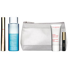 Buy Clarins Wonder Perfect Mascara, 01 Wonder Black and Instant Eye Makeup Remover, 125ml with FREE Summer Beauty Duo Online at johnlewis.com